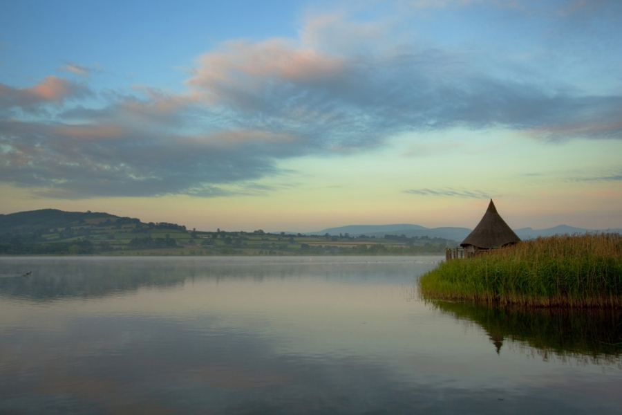 Llangorse Lake, Brecon Beacons
