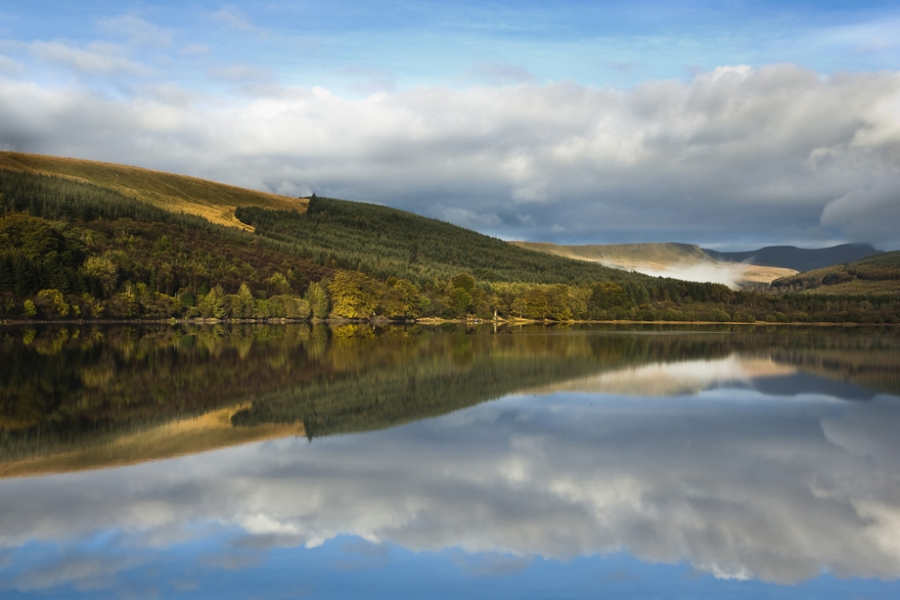 Pentwyn Reservoir, Brecon Beacons
