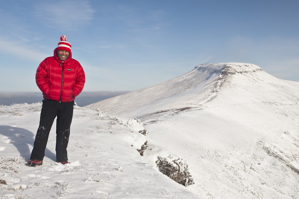 Pen Y Fan Snow