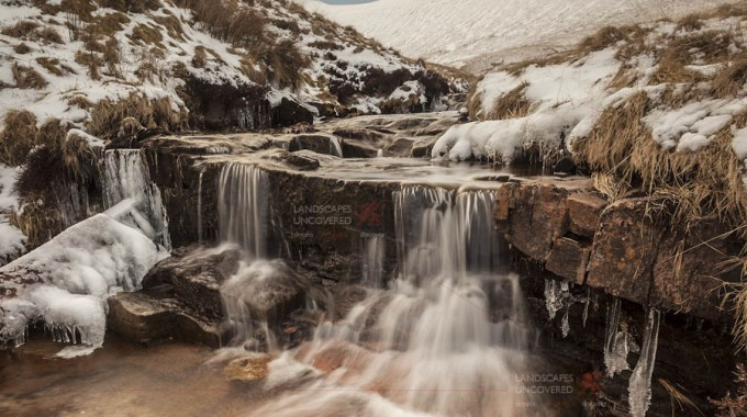 Pen Y Fan Brecon Beacons Waterfall