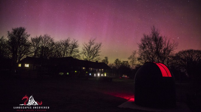 Brecon Beacons Aurora Borealis 1