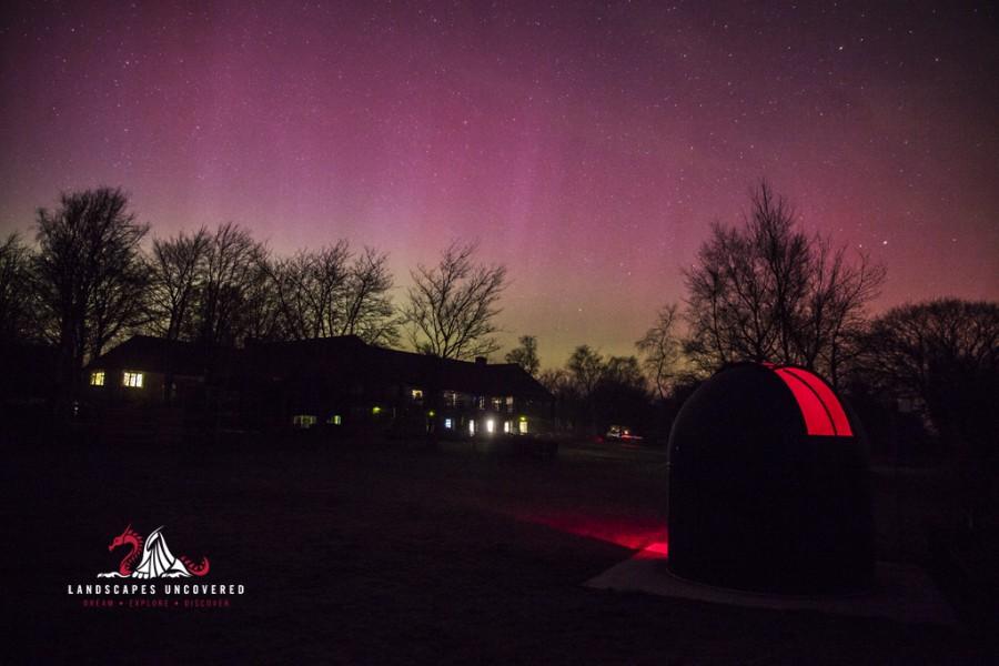 Brecon Beacons Aurora Borealis