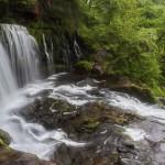 Clun Gwyn Waterfall, Ystradfellte, Brecon Beacons