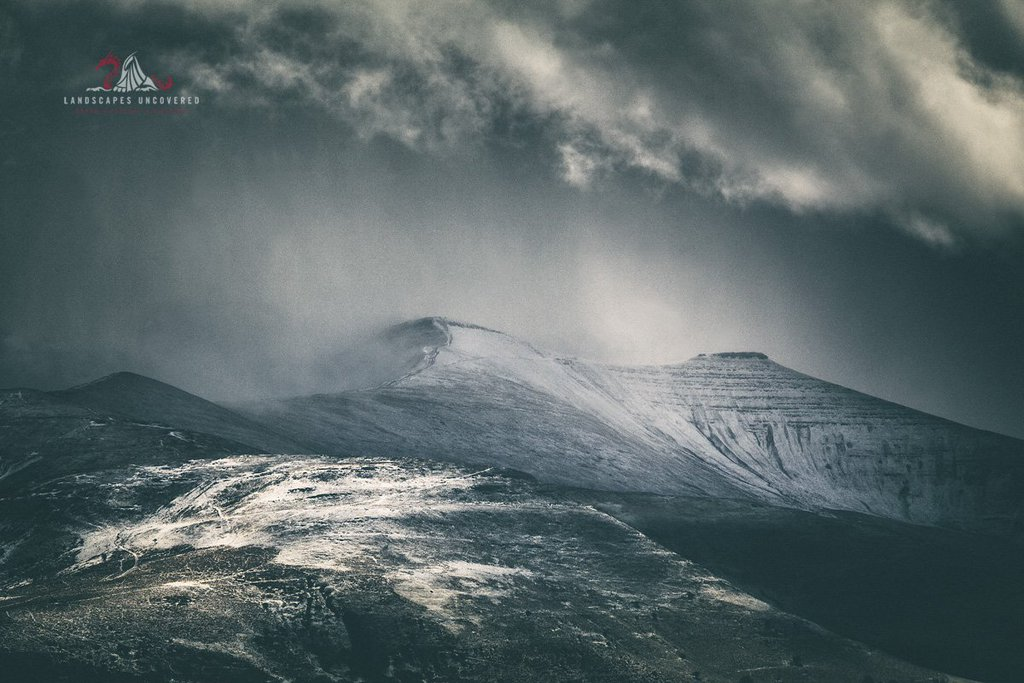 Pen Y Fan Mountain Brecon Beacons Montage