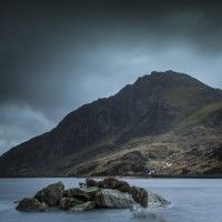 Tryfan Is A Mountain In The Ogwen Valley, Snowdonia, Wales