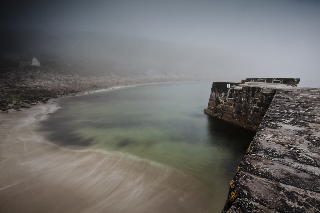 A Mist Filled Photography Evening At Lamorna Cove