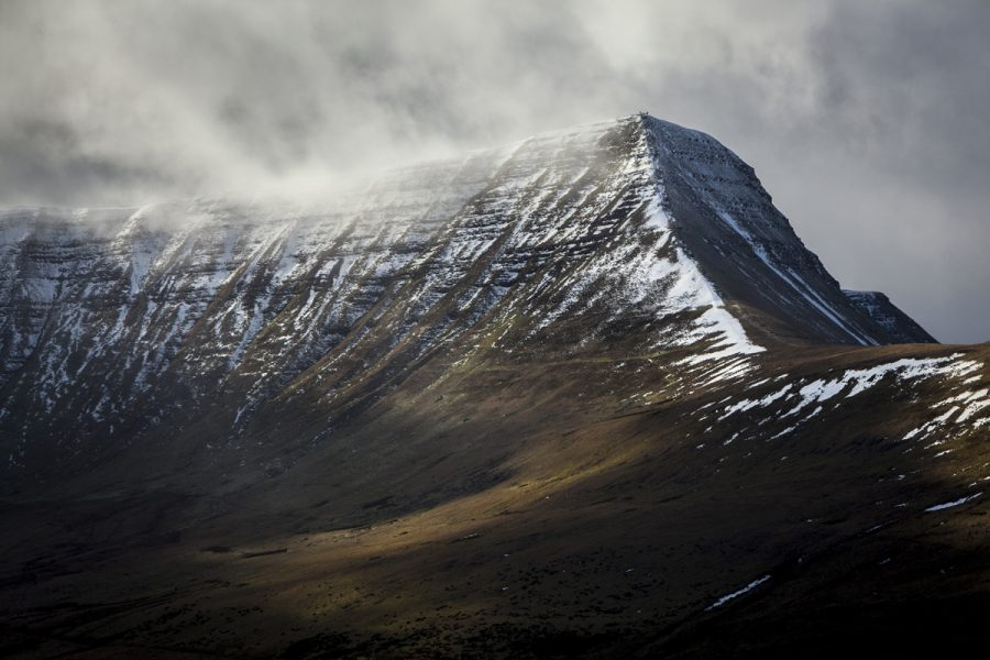 Portrait Of Cribyn, Brecon Beacons