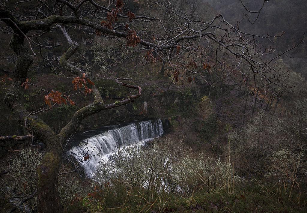 Sgwd Isaf Clun Gwyn Waterfalls, Brecon Beacons