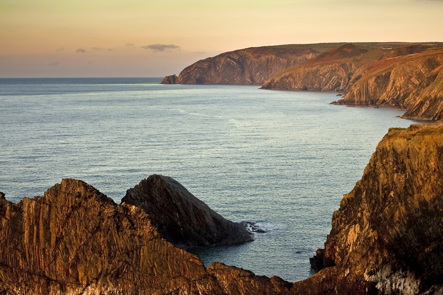 Dusk North Pembrokeshire Coastline