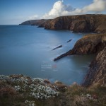 North Pembrokeshire Coastline From Ceibwr