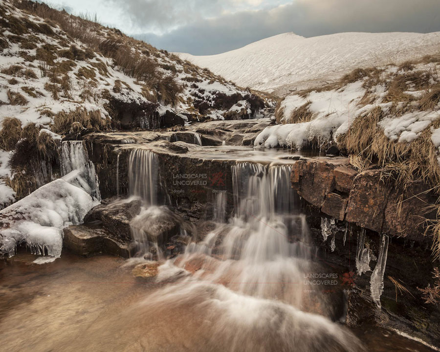 Pen Y Fan Brecon Beacons Waterfall