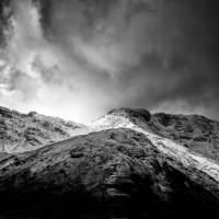 the dark landscape
