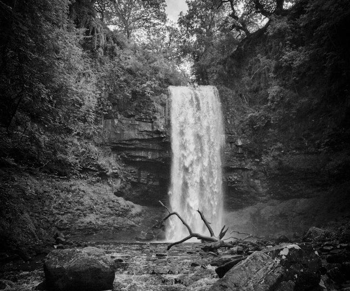 Henrhyd Waterfall Batmans Cave