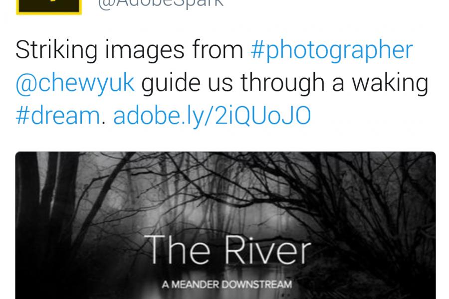 Adobe Spark – The River