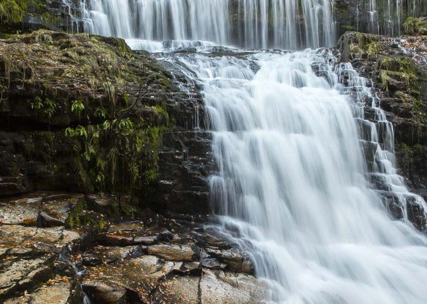 Sgwd Clun-Gwyn Isaf Waterfall Brecon Beacons