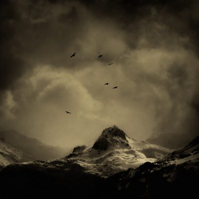 Mountains French Alps-