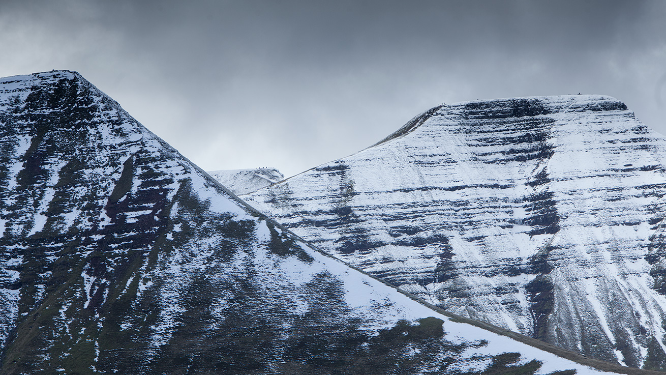 A Different Composition In The Brecon Beacons